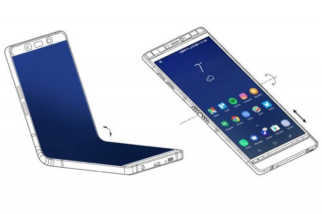 Samsung-brought-almost-finished-foldable-Galaxy-X-to-CES-7.3-display-in-tow