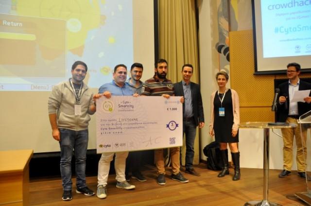 Cyta Crowdhackathon Smartcity 4