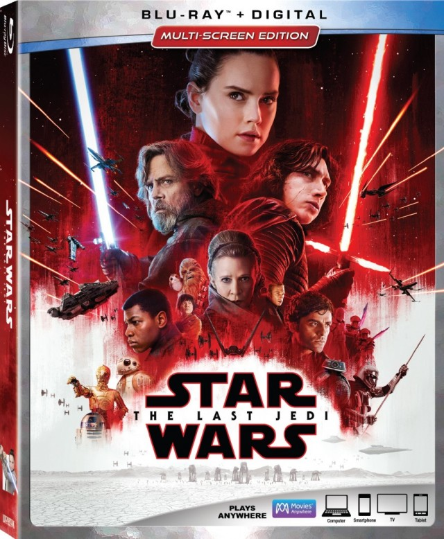 The Last Jedi Blu Ray 1
