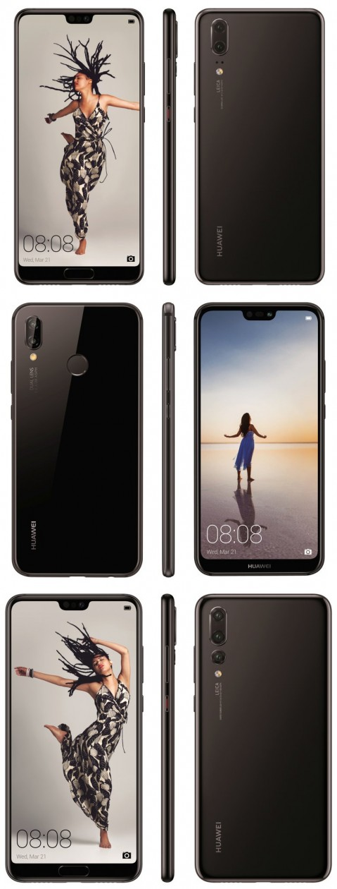Huawei P20 series leaks