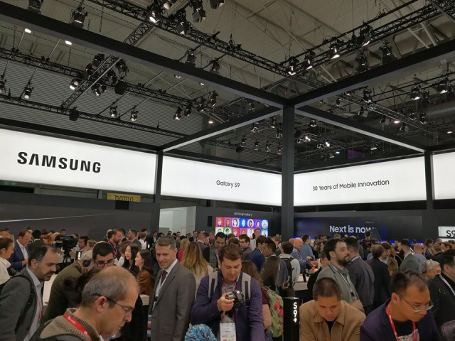 Samsung Booth Tour MWC 2k18 (11)