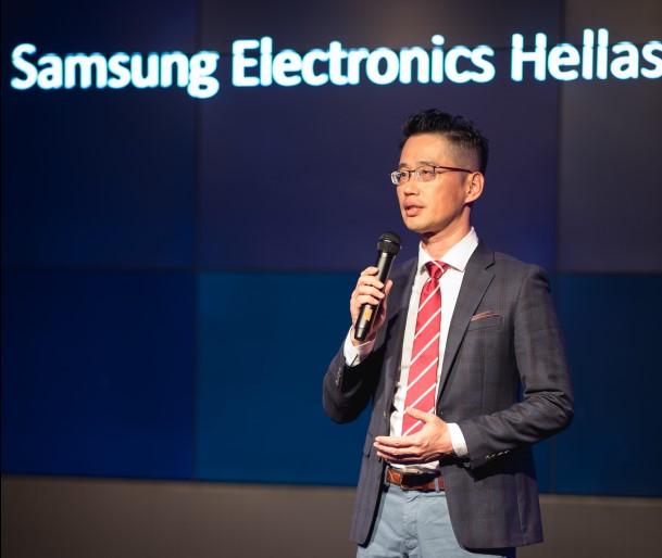 Ο Kyoung Il Min, Πρόεδρος της Samsung Electronics Hellas.