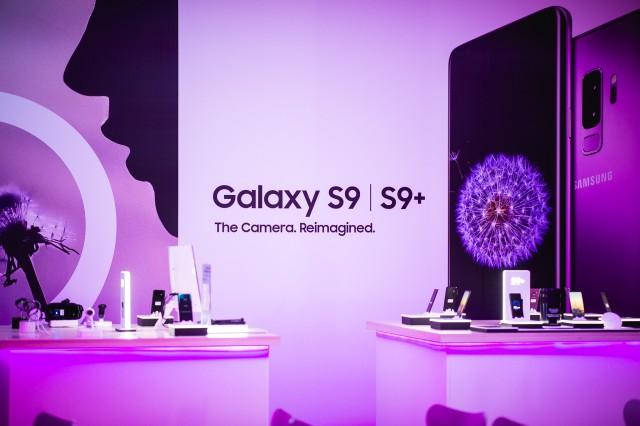 Oι πρωταγωνιστές της βραδιάς, Samsung Galaxy S9 I S9+.