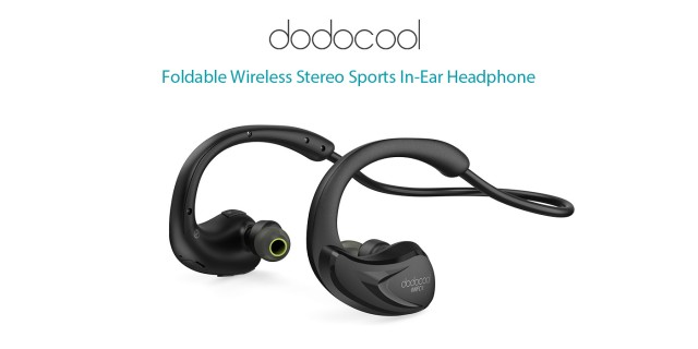 dodocool Foldable Wireless Stereo Sports In-Ear Headphone