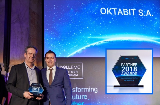 Dell_EMC Partner Awards 2017_oktabit_Client Distributor of the Year 2017