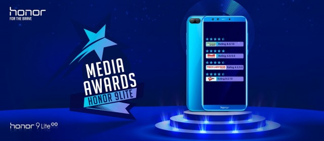 Honor 9 Lite Media Awards