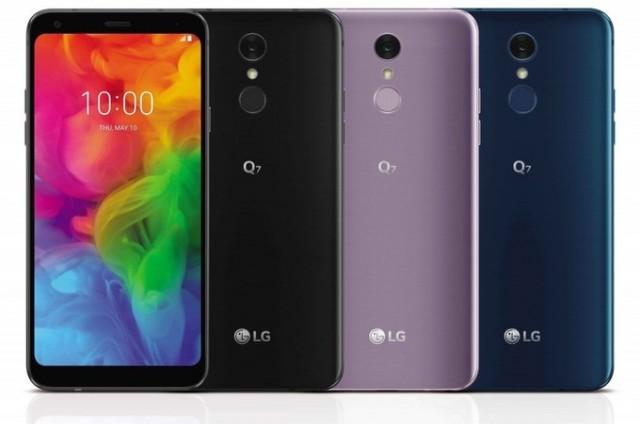 LG Q7, Q7+ and Q7α