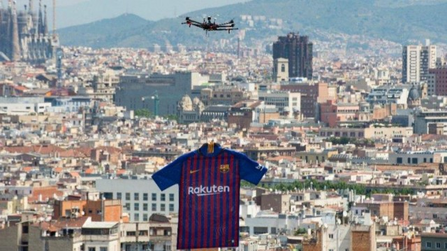 barcelona-drone