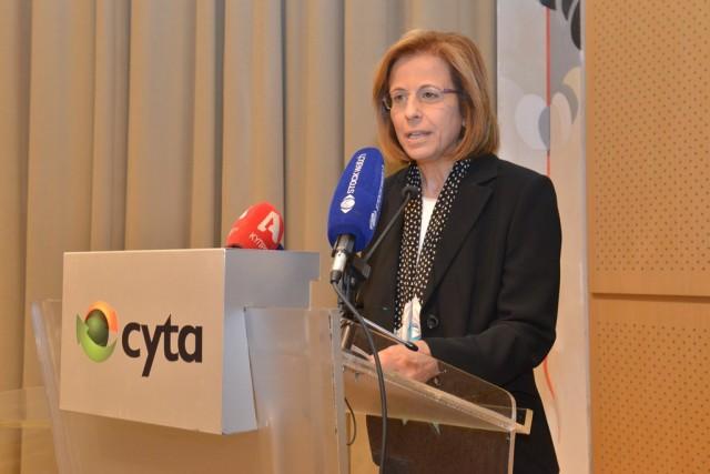 Γραπτή δήλωση της προέδρου της CYTA κας Ρένας Ρουβιθά αναφορικά με την έκθεση του γενικού ελεγκτή για την CYTA για το έτος 2017