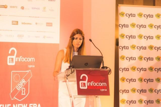 Κοσμοσυρροή στο Συνέδριο InfoCom Security Cyprus: Νέα εποχή για την Προστασία Δεδομένων και Ψηφιακής Ασφάλειας στην Κύπρο