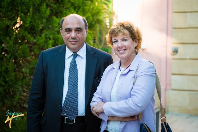 Christodoulos Agkastiniotis and US Ambassador