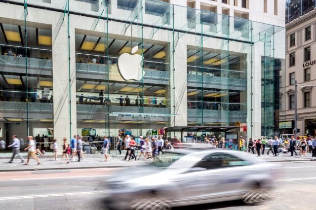 Apple Retail Store George Street, Sydney, Australia