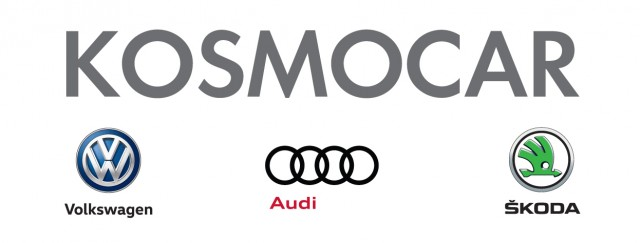 KOSMOCAR & logos 14x4cm