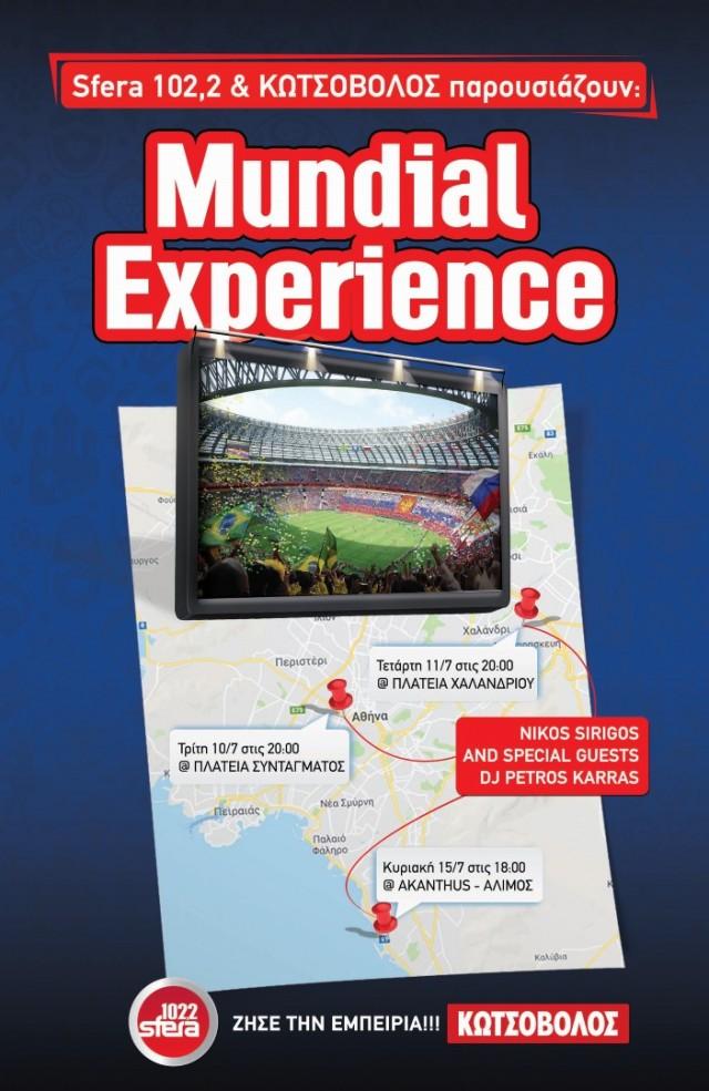 Mundial Experience