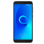 Alcatel 3_Spectrum Black_Front