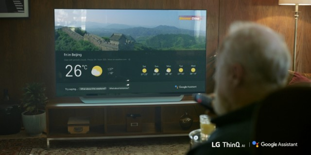 LG TV Google Assistant Consumer 01