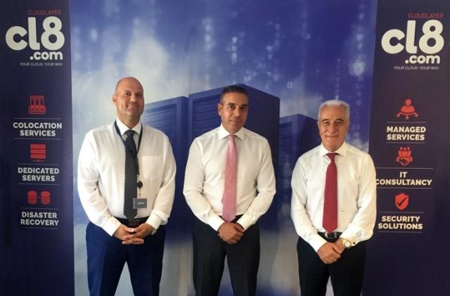 Από αριστερά : Αρτέμιος Ανδρέου, Γιώργος Μιχαηλίδης, Πέτρος Γ. Οικονομίδης
