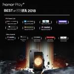 Honor Play Διακρίσεις IFA 2018