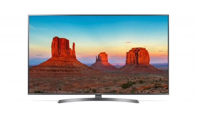 LG Ultra HD 4K TV UK6750-1