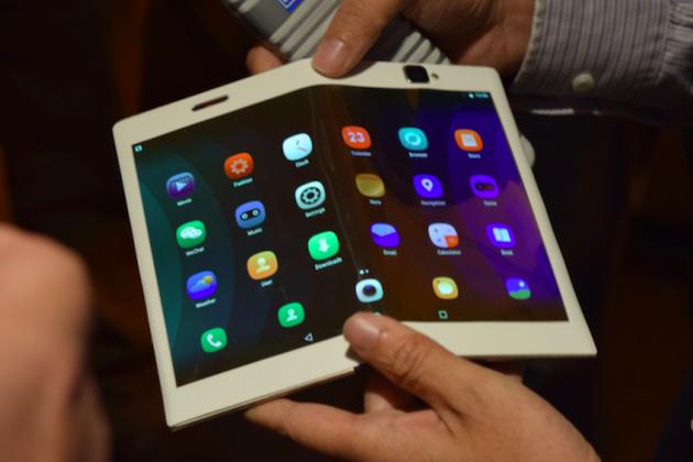 Lenovo foldable tablet concept