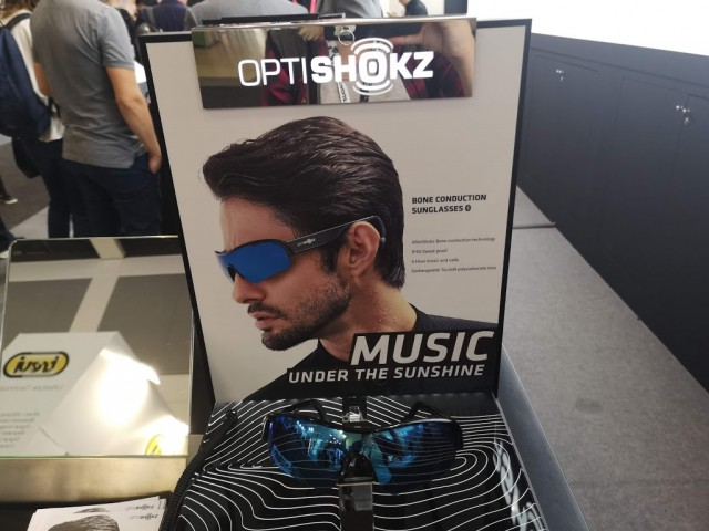 Optishokz Bone Conduction SunGlasses
