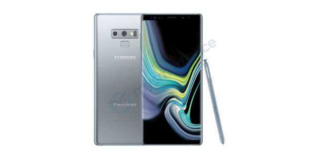 Samsung Galaxy Note 9 silver