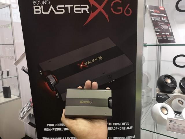 Sound BlasterX G6-10