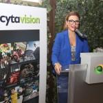 Η υπεύθυνη επικοινωνίας της Cytavision κα. Έλενα Βασιλείου