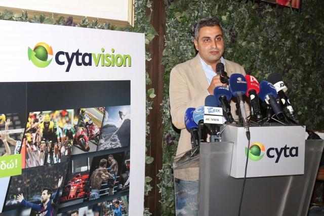 Ο προϊστάμενος του αθλητικού περιεχομένου της Cytavision, κ. Ανδρέας Οικονομίδης