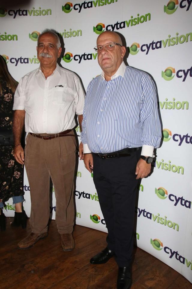 Ο ΑνΑΕΔ της Cyta κ. Μιχάλης Αχιλλέως και ο Πρόεδρος της ΚΟΠ κ. Γιώργος Κούμας