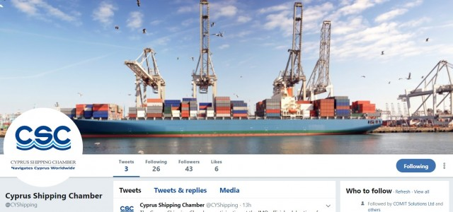 twitter cyprus shipping chamber