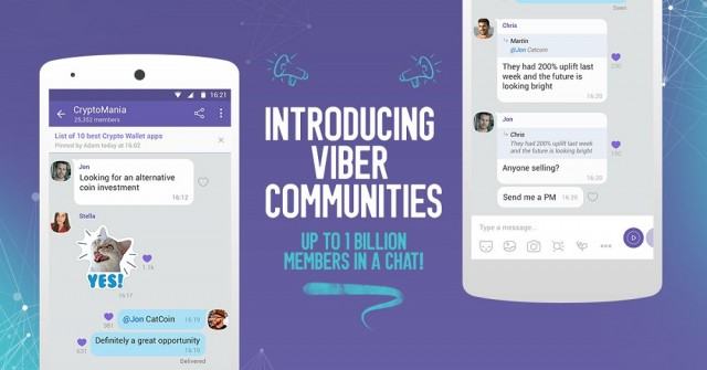 Κοινότητες _ Viber Communities
