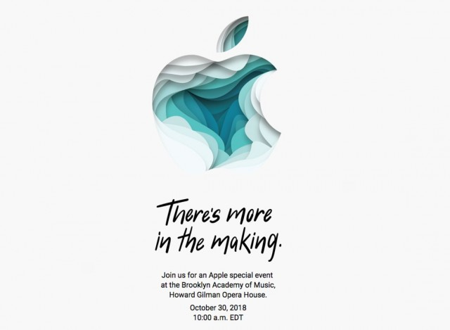 Apple Event October 30th