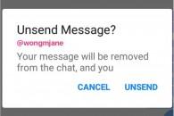 Ο Facebook Messenger θα προσθέσει σύντομα επιλογή Unsend Messages!