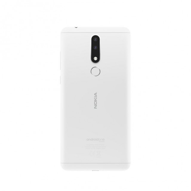 HMD Global - Nokia 3.1 Plus - White - Back