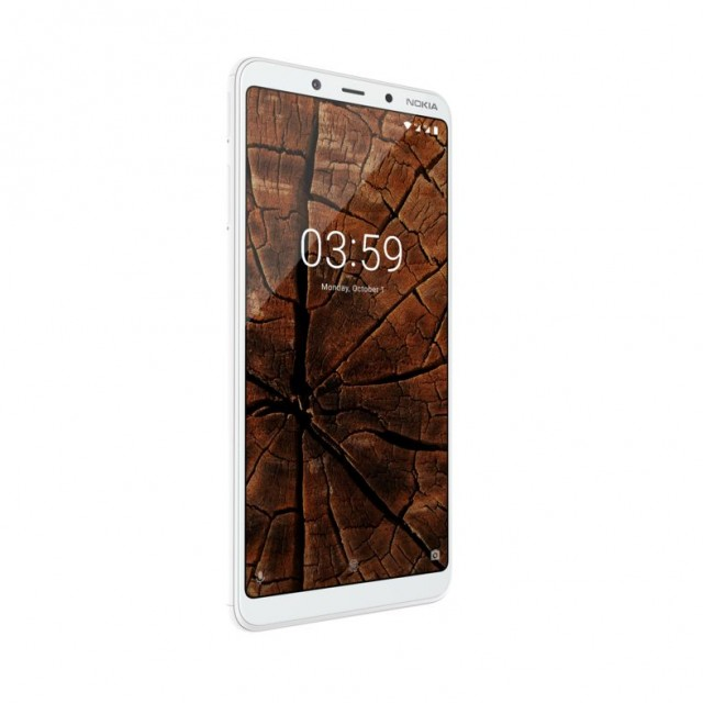 HMD Global - Nokia 3.1 Plus - White - Right