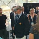 Ο Πρίγκηπας Αλβέρτος Β' του Μονακό δοκιμάζει το VR Headset και το 5G drone της Monaco Telecom