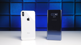 iPhone XS Max vs Galaxy Note 9 Battery Test