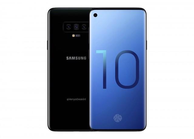 Samsung Galaxy S10 concept by Venya Geskin