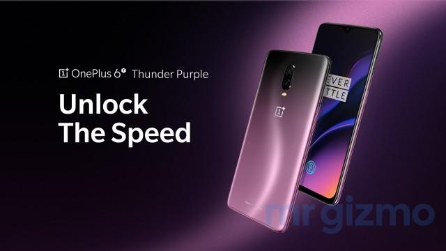 Thunder Purple OnePlus 6T2