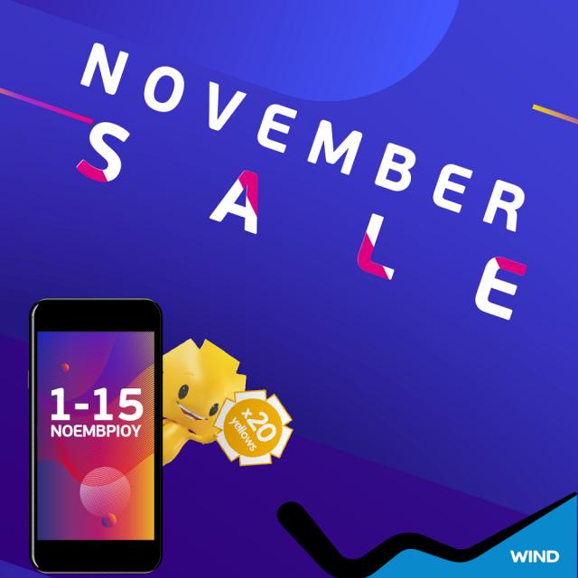 WIND November Sales