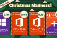 Χριστούγεννα με Windows 10 Pro στα €9,7 και Office 2016 Pro Plus στα €12,97
