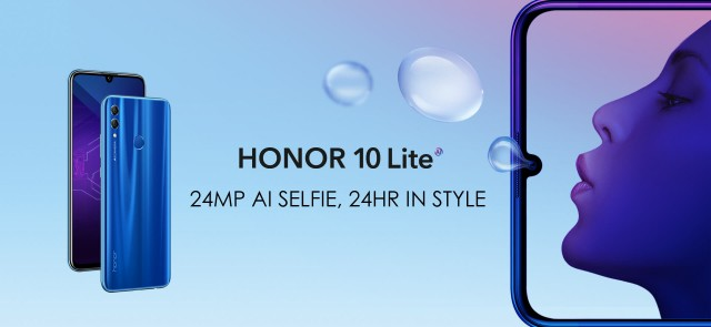 Honor 10 Lite style