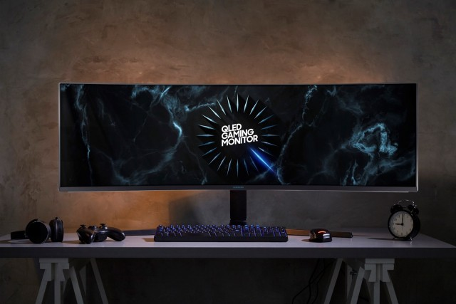 Samsung CRG9 super ultra-wide gaming monitor