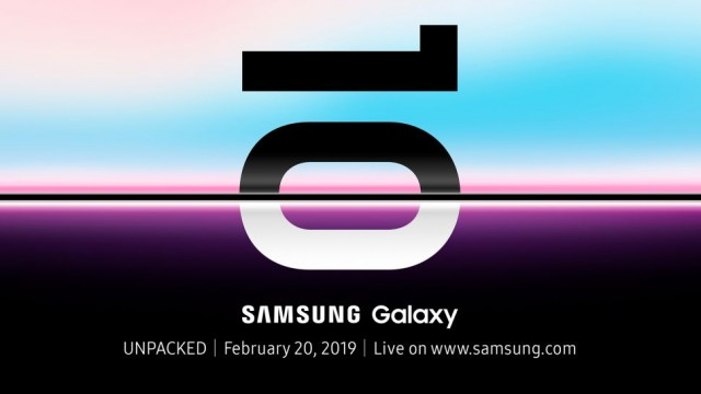 Samsung Galaxy S10 INVITATION