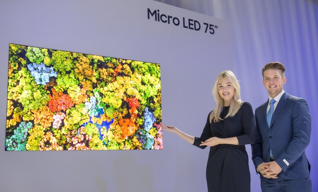 Samsung Unveils The Future of Displays at CES 2019 - Micro LED 75
