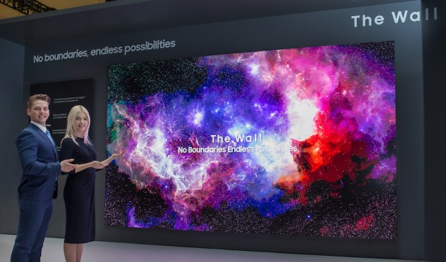 Samsung Unveils The Future of Displays at CES 2019 - The Wall