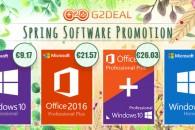 Νέες εκπτώσεις σε κλειδιά για Windows 10 Pro (από €9.17) και Office!