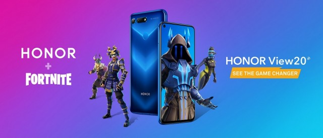 HONOR + Fortnite KV