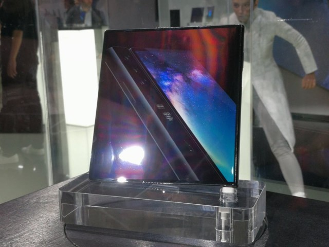 Huawei Mate X hands-on 08